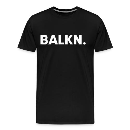 BALKN-_wit_ - Mannen Premium T-shirt