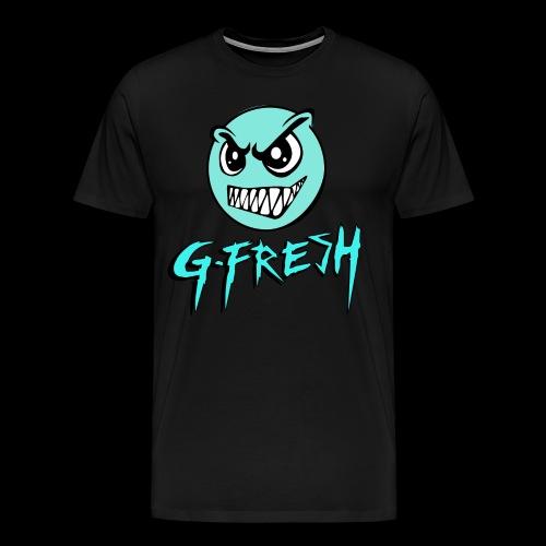 G-Fresh logo - Mannen Premium T-shirt
