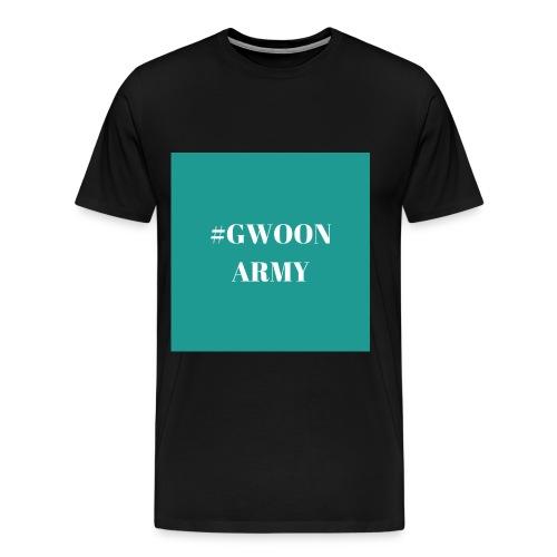 #GwoonArmy - Mannen Premium T-shirt
