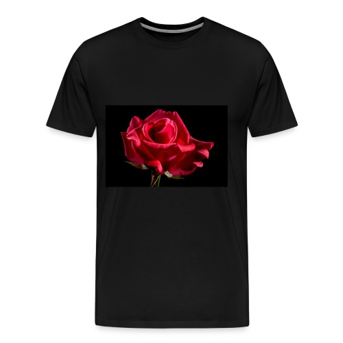 T-Shirt Rose Geschenk Geschenkidee - Männer Premium T-Shirt