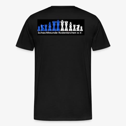 Schachfreunde Rodenkirchen Vereinshemd - Männer Premium T-Shirt