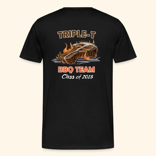 Triple T 2018 back - Mannen Premium T-shirt