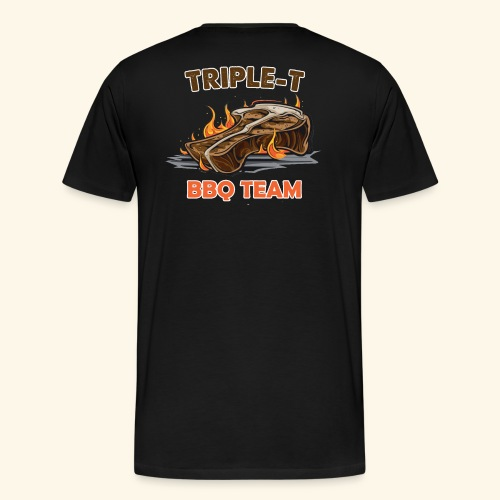 Triple-T BBQ Team - Mannen Premium T-shirt