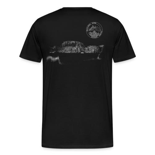 MSM66 fjord black - Männer Premium T-Shirt