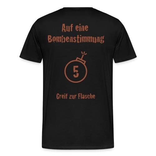Bombenstimmung - Männer Premium T-Shirt
