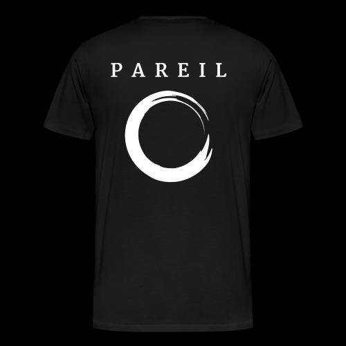 Black Back Box Logo - Men's Premium T-Shirt