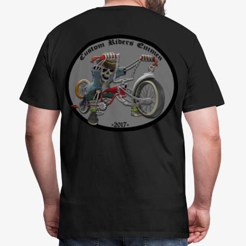 Custom Riders Emmen - Mannen Premium T-shirt