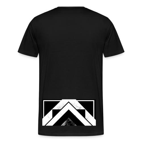 Half black mist - Men's Premium T-Shirt