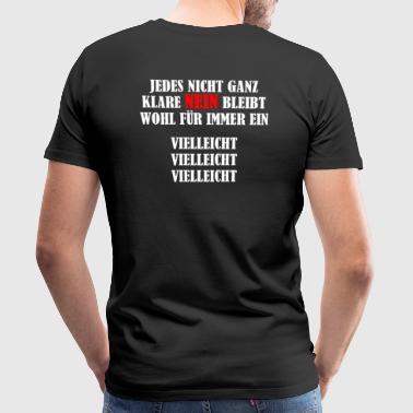NEIN VIELLEICHT - ATOMAUSSTIEG - Männer Premium T-Shirt