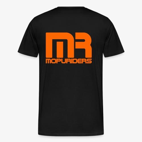 Mopriders Orange - Männer Premium T-Shirt