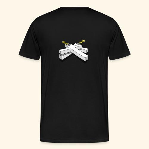 Gold Crosses - Maglietta Premium da uomo