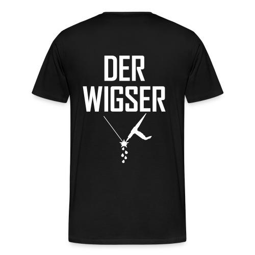 DER WIGSER - Männer Premium T-Shirt