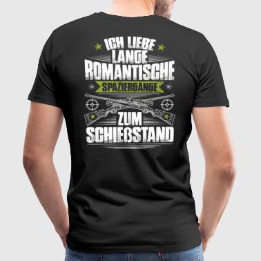 Schießstand Sportschießen Schützenverein Spazieren - Männer Premium T-Shirt