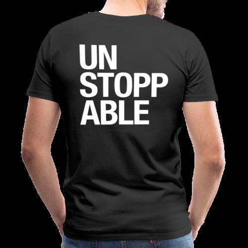 unstoppable white - Männer Premium T-Shirt