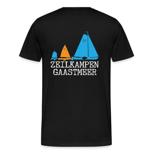ZKG Wit - Mannen Premium T-shirt