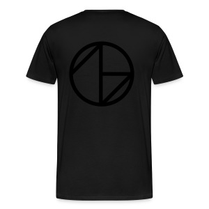Ghost Nation Logo - Premium-T-shirt herr