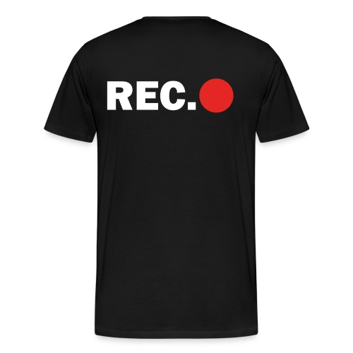 Cameraman Cap - Mannen Premium T-shirt