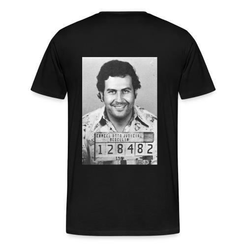 Pablo Escobar Mug - Männer Premium T-Shirt