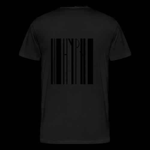 Barcode tee transparent - Männer Premium T-Shirt