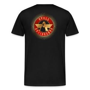 Stall Arvingarna-logo - Premium-T-shirt herr