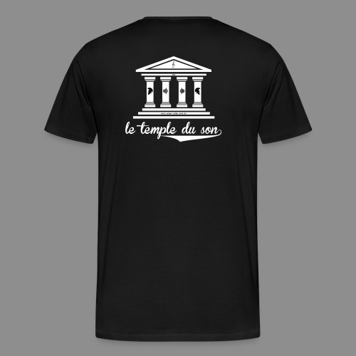 The Classic Collection Temple - Men's Premium T-Shirt