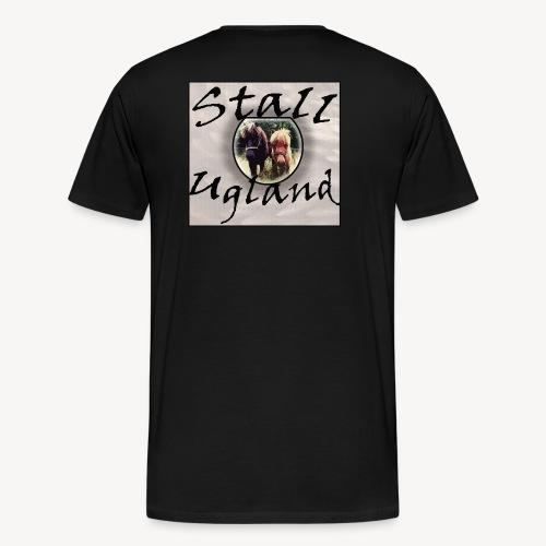 Stall Ugland - Premium T-skjorte for menn