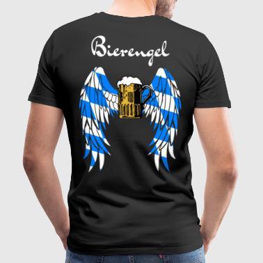 Munich ange de la bière - Oktoberfest - T-shirt Premium Homme