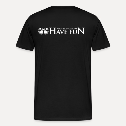 Logo Have Fun Malfurion - Männer Premium T-Shirt