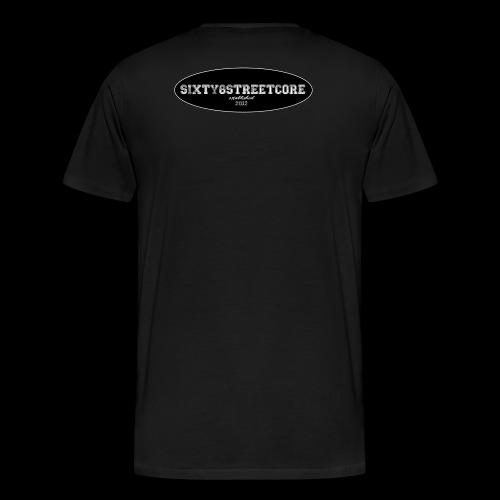 68FL:OZ - sixty8streetcore Rückseite - Männer Premium T-Shirt