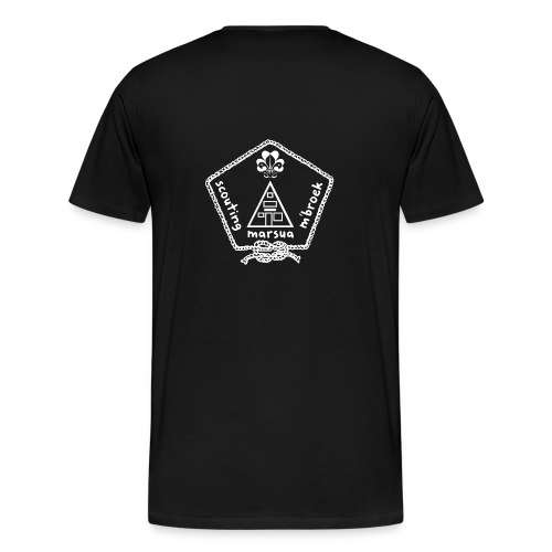 Marsua Wit - Mannen Premium T-shirt