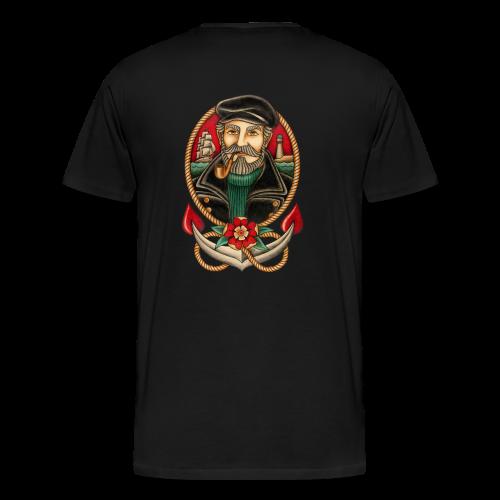 SEA CAPTAIN TATTOO - Men's Premium T-Shirt