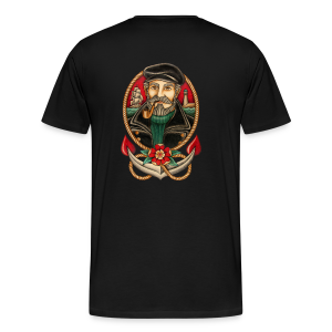 SEA CAPTAIN TATTOO - Men's Premium T-Shirt