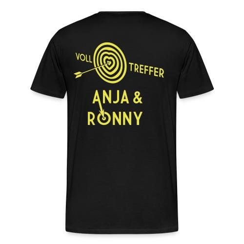 Anja und Ronny - Männer Premium T-Shirt
