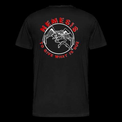 Nemesis Logo - Männer Premium T-Shirt