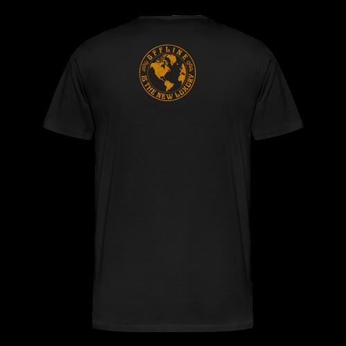 Offline Luxury - Männer Premium T-Shirt
