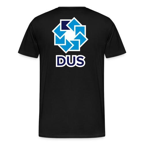 Kotlin User Group Düsseldorf - White Border - Männer Premium T-Shirt