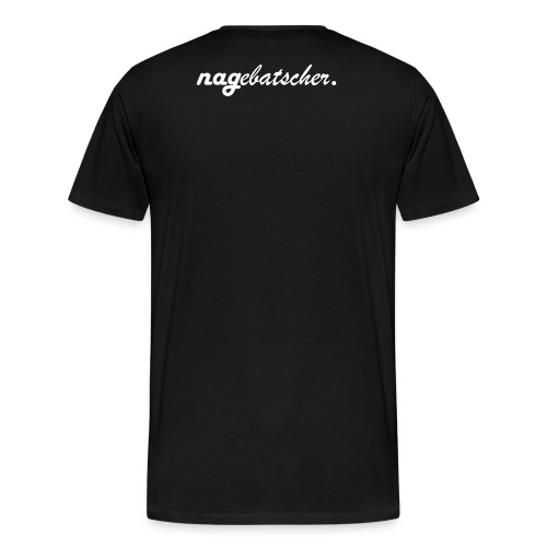 nagebatscher premium logo - Männer Premium T-Shirt