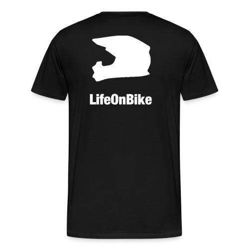 LifeOnBike - Männer Premium T-Shirt