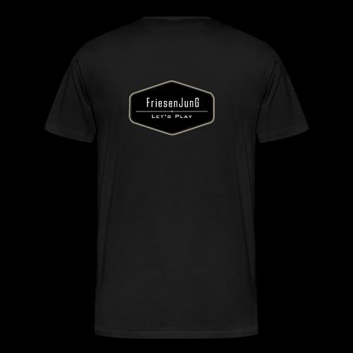 Friesenjung Logo - Männer Premium T-Shirt