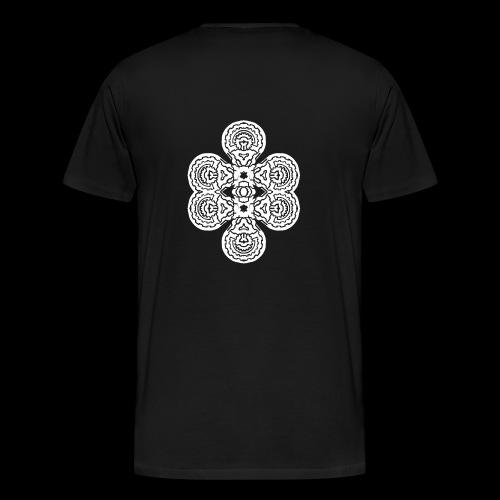 TAROT 4 BLANC - T-shirt Premium Homme