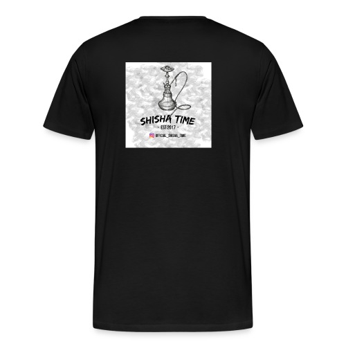 Official Shisha Time Logo - Männer Premium T-Shirt