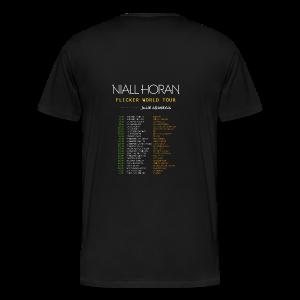 FLICKER WORLD TOUR - Camiseta premium hombre