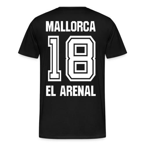 Mallorca El Arenal 2018 - Auch Rückendruck möglich - Männer Premium T-Shirt