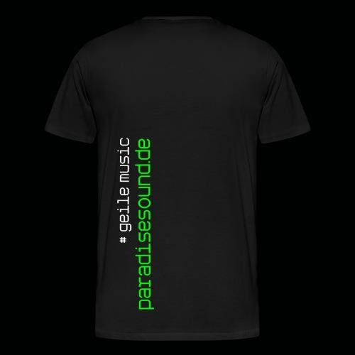 geile music - Männer Premium T-Shirt