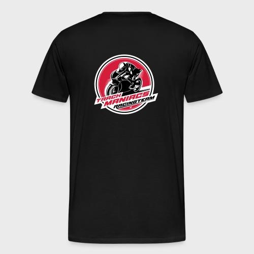 Trackmaniacs Racingteam Emblem - Männer Premium T-Shirt