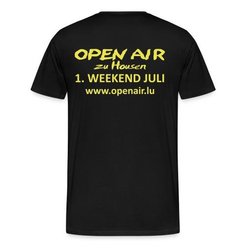 Open Air Hosingen - Männer Premium T-Shirt