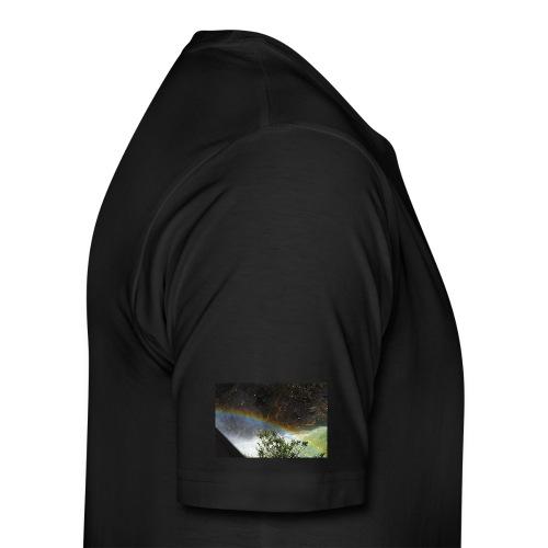 Pandateee-Ranbow - Premium-T-shirt herr