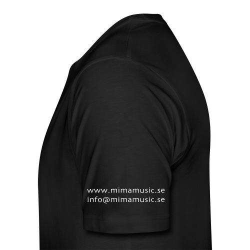 mima music - Premium-T-shirt herr