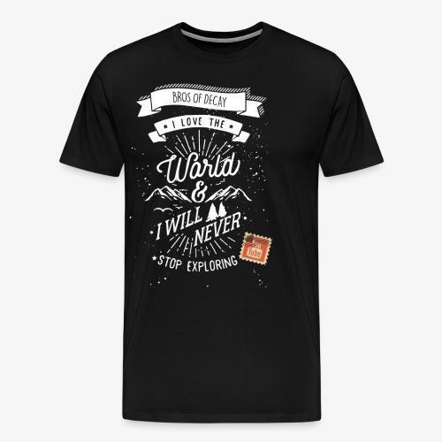 NEVERSTOPEXPLORING1 - Men's Premium T-Shirt