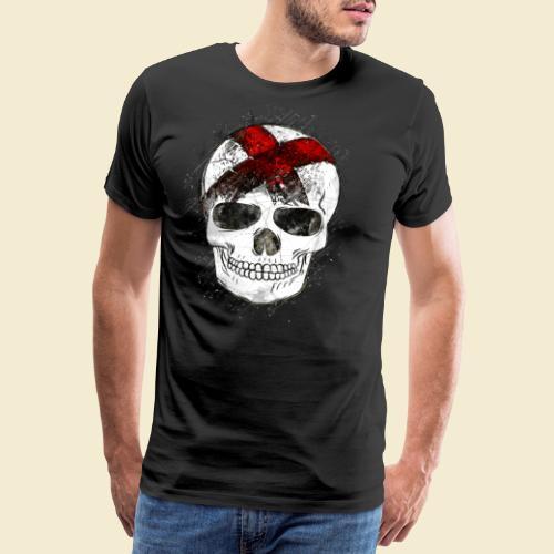 Radball | CycleBall Skull - Männer Premium T-Shirt